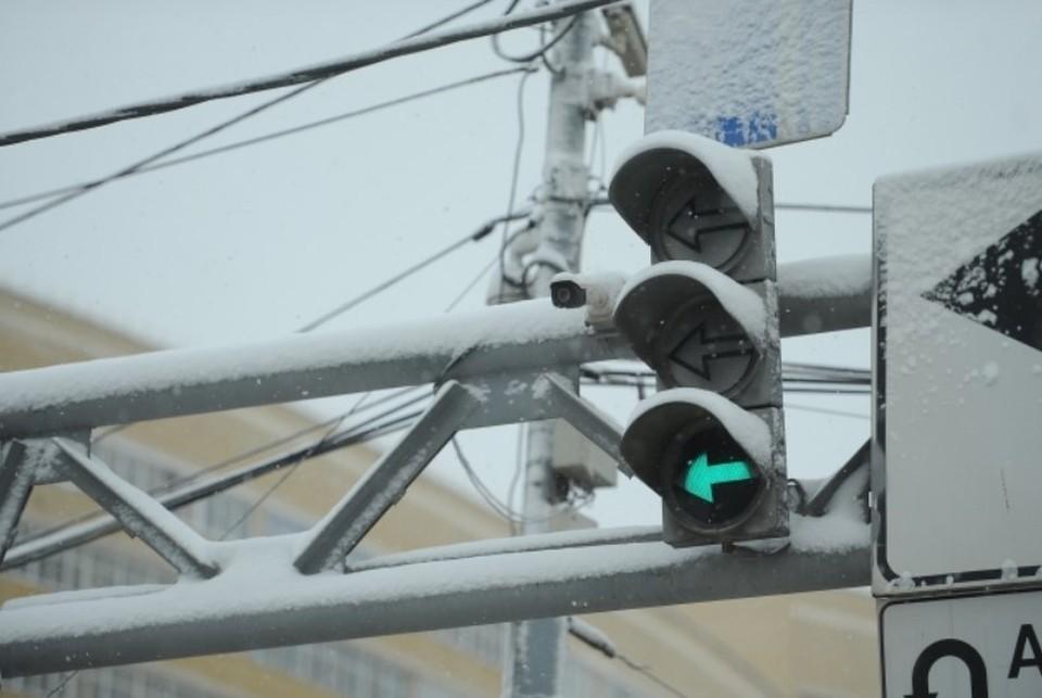 Светофоры установили на самых загруженных улицах города