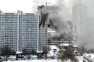 «Из окон кричали люди, просили спасти»: На западе Москвы загорелся 17-этажный дом