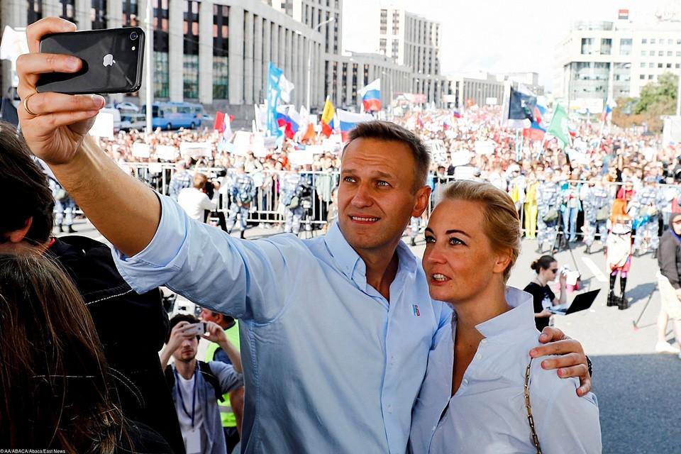 Почему бы российской Тихановской не стать Юлии Навальной?