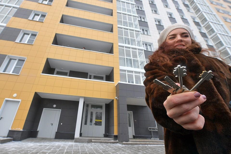 Заселение первого дома, построенного по программе реновации по адресу 5-я Парковая улица, 62Б.