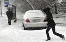 Снегопад в Нижнем Новгороде 16 января 2021: сугробы на дорогах, заносы и метель