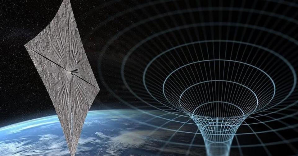 Космический парусник может покорять межзвездные пространства