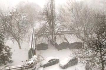 Сильный снегопад в Краснодаре 17 января: задержка авиарейсов, сугробы на дорогах