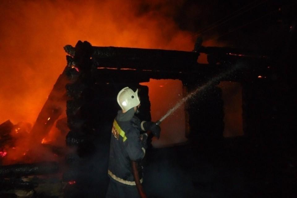 В тюменском поселке сгорели дети, пока мать ходила в магазин.