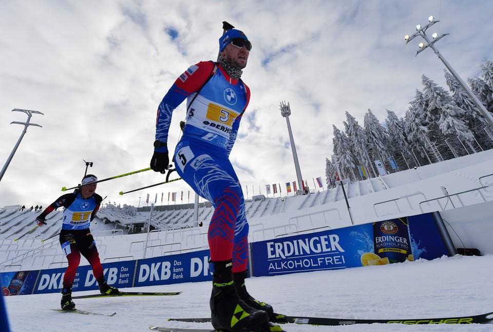 Сборная России готовится к участию в седьмом этапе Кубка мира по биатлону.