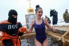 Лучшие фото с крещенских купаний в Санкт-Петербурге