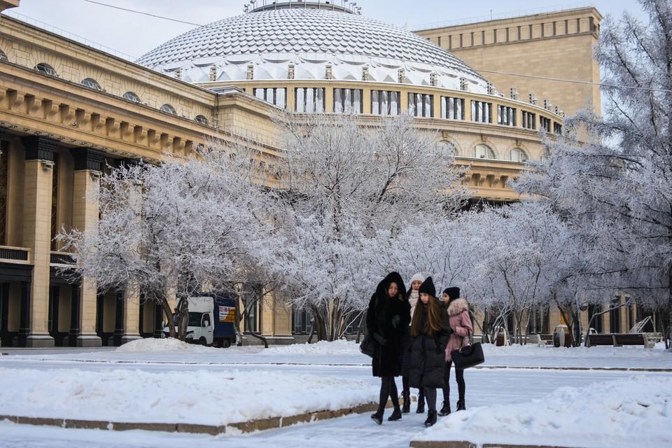 «До -37!»: синоптики предупредили новосибирцев об аномальных морозах