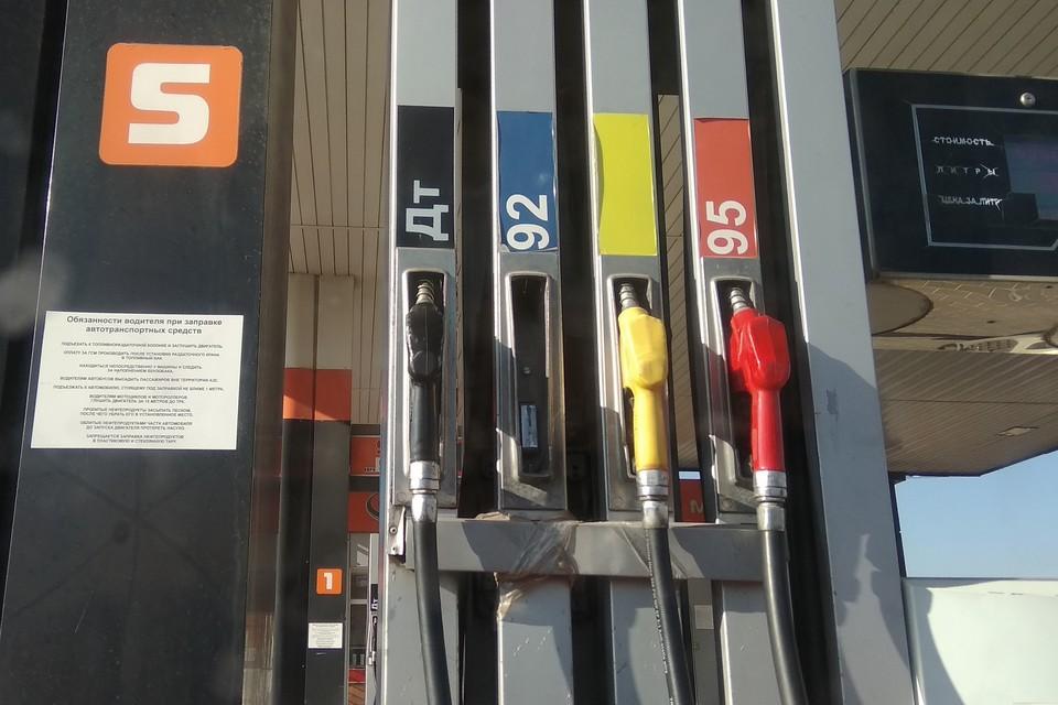 В Липецке за неделю подорожал бензин
