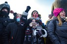 Несанкционированный митинг 23 января 2021 года в Новосибирске: фото, видео