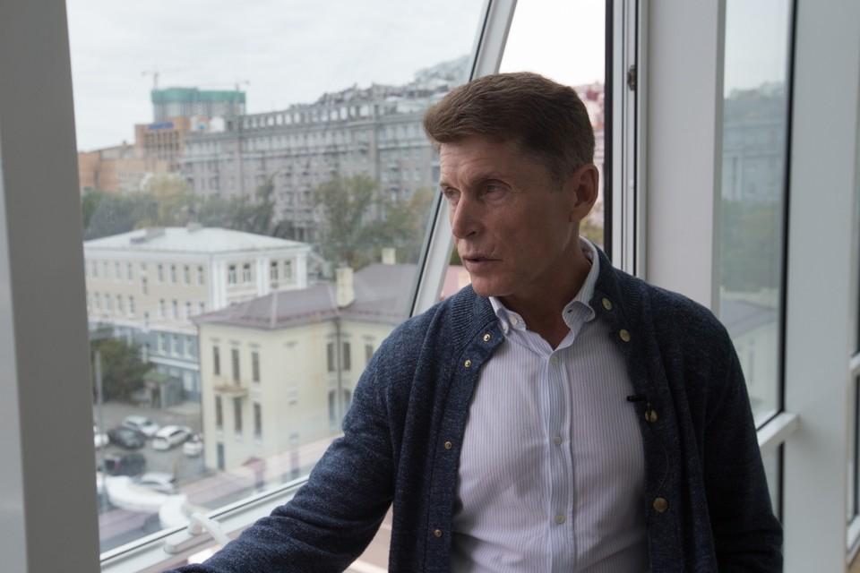 Олег Кожемяко руководит Приморским краем с декабря 2018 года. Фото: Александр ХИТРОВ