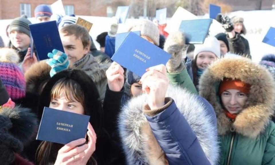 В Томске каждый учебный год улицы наполняет молодежь: не даром областной центр считается студенческой столицей страны.