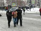 Задержания участников несанкционированной акции на площади Славы в Самаре: как это было