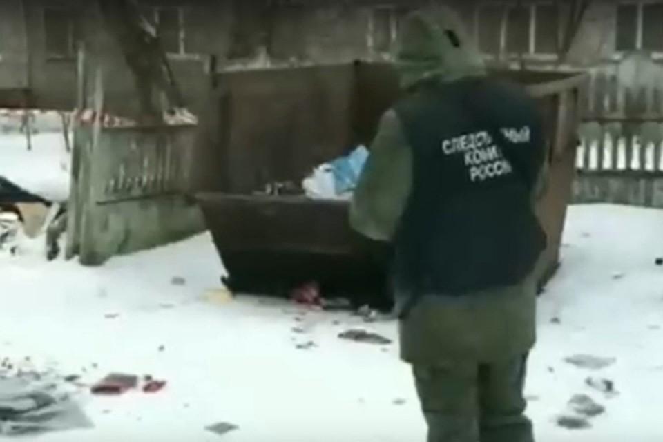 Тело убитой нашли в помойном контейнере Фото: СУ СК РФ по Тверской области