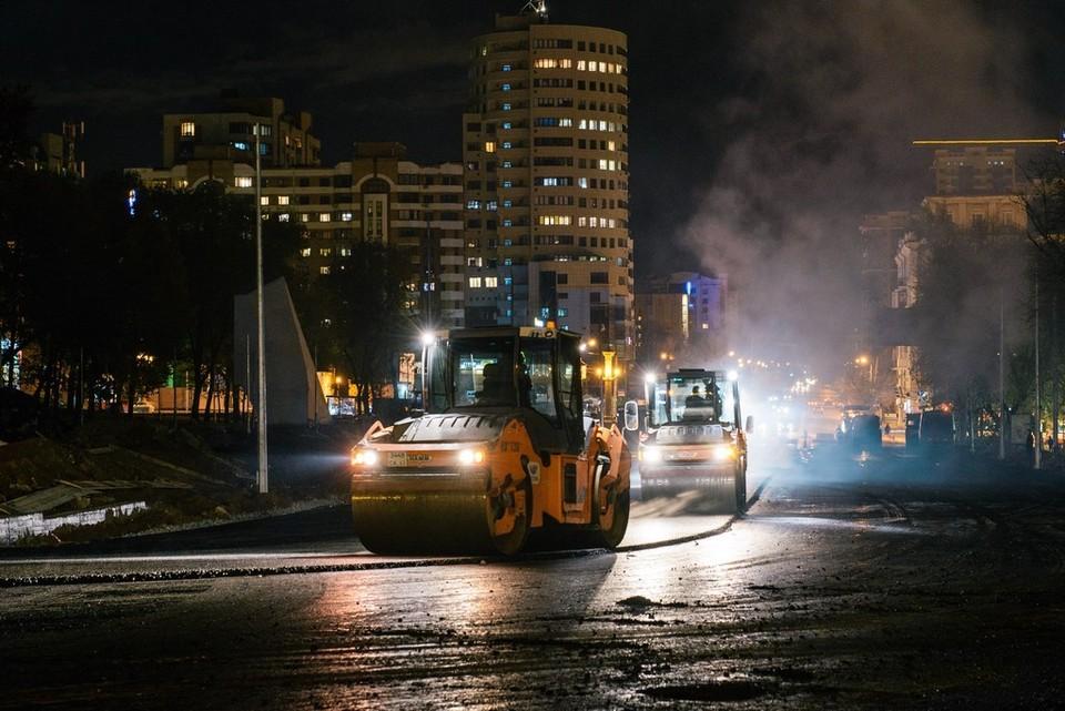 По словам водителей, на Московском шоссе образовались глубокие колеи