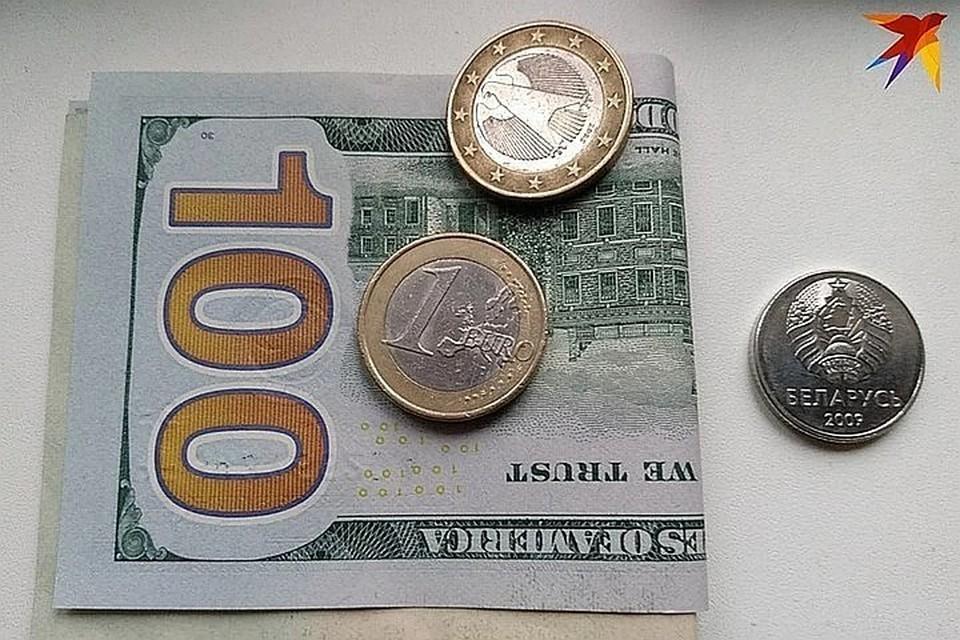 Белорусский рубль резко обвалился к доллару и евро 28 января