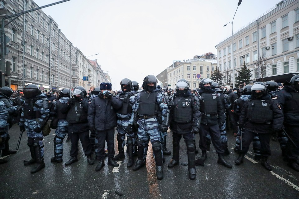 Московская полиция призывает не участвовать в несанкционированной акции 31 января