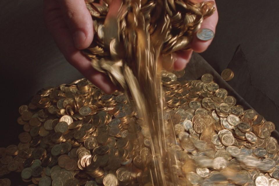Неизвестные спрятали 24 монеты.