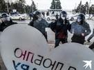 Ершики наголо: на несанкционированные акции в Самаре вышло больше полиции, чем горожан