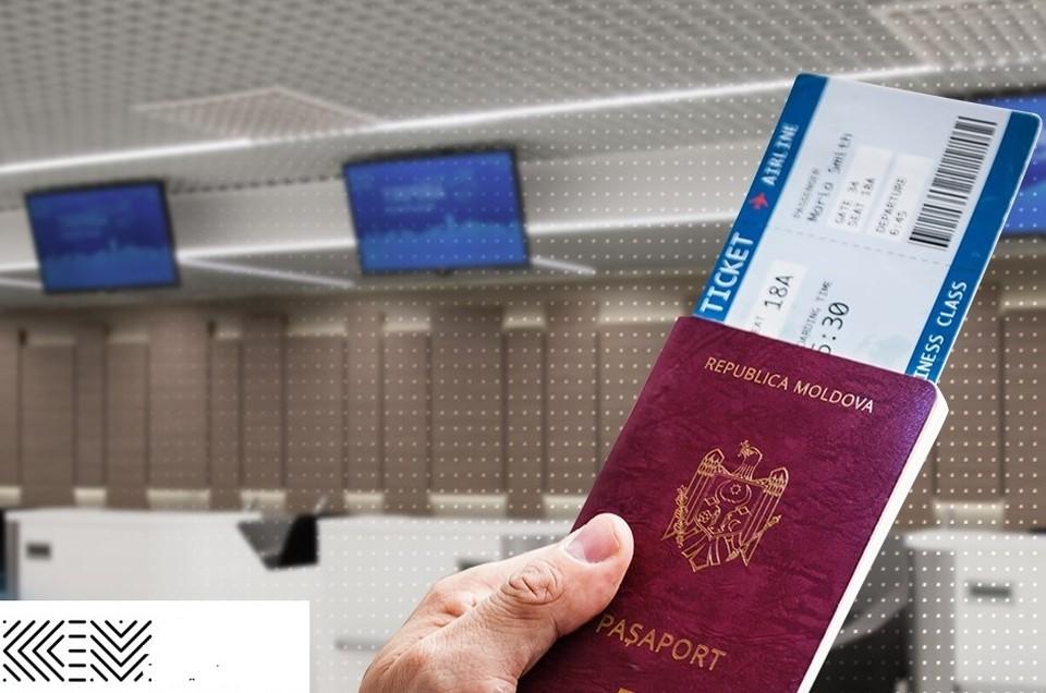 Обладатели молдавских паспортов могут выезжать в несколько стран мира. Фото: facebook/ChisinauInternationalAirport