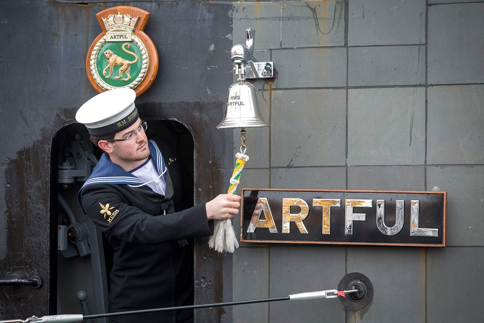 На борту британской подводной лодки HMS Artful служили порноактеры-любители. Фото: FA Bobo/PIXSELL/PA Images