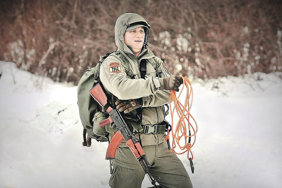 Выживанию Олег Гегельский начал учиться еще во время службы в спецназе. Фото: Личный архив