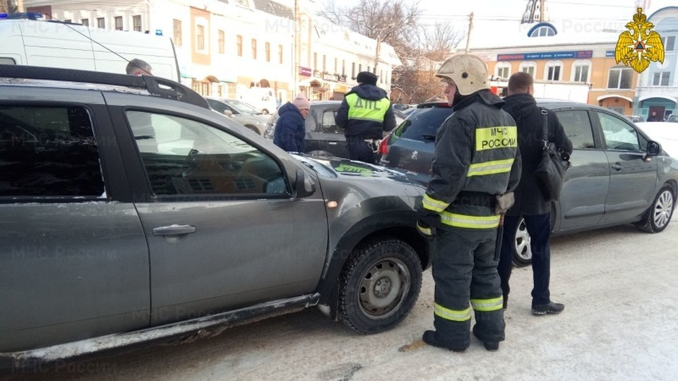 Авария произошла в 9 часов утра