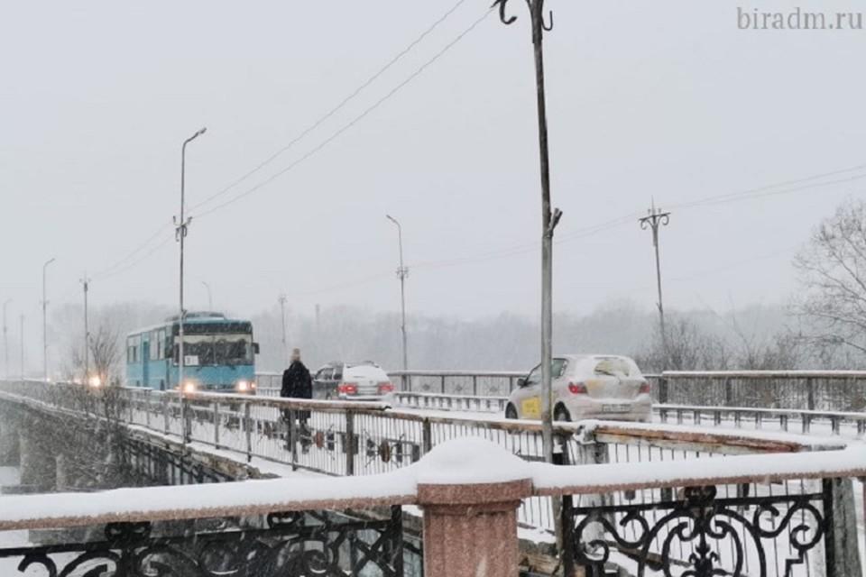 Мост в Биробиджане закроют 11 февраля на ремонт