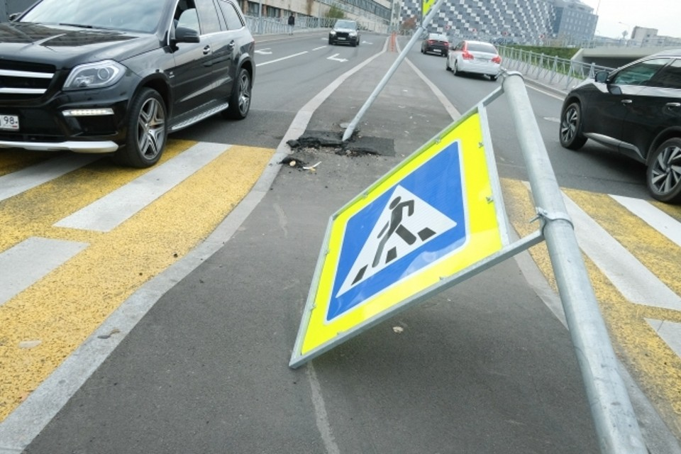 Авария произошла на улице Подстаницкого в районе дома № 10.