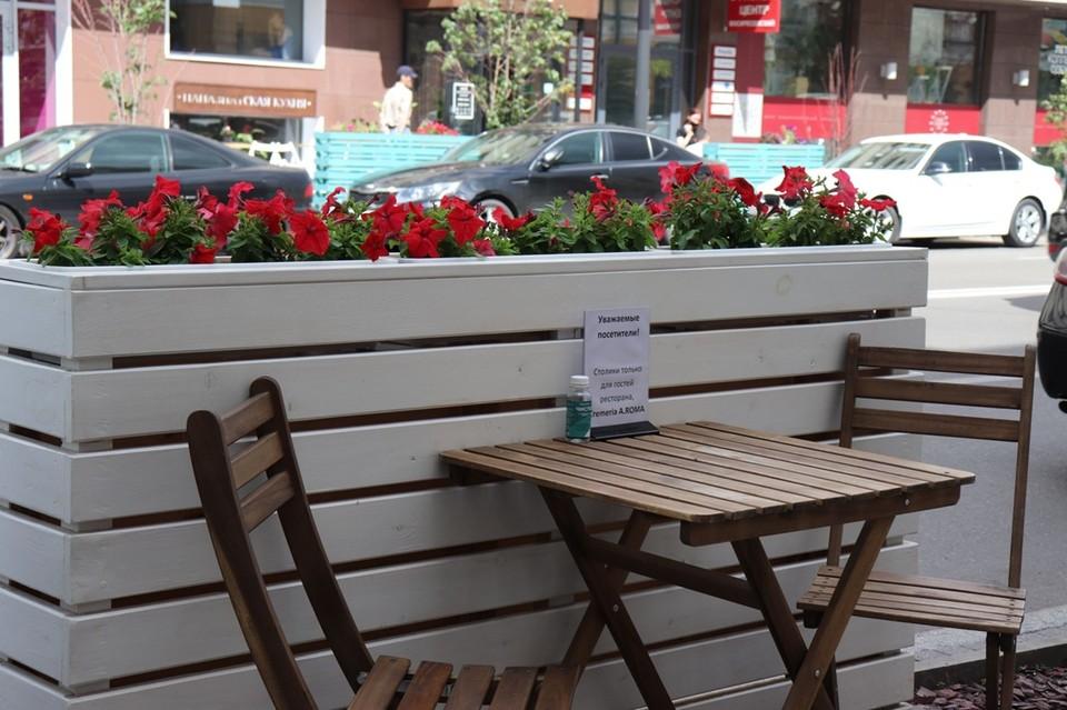 В Красноярске началась подготовка к летнему цветочному оформлению улиц