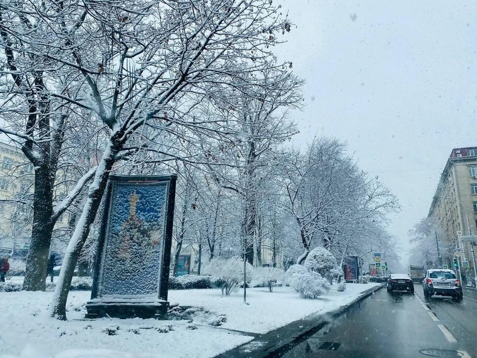 Аномальные морозы и ураган: погода в Краснодарском крае на выходные