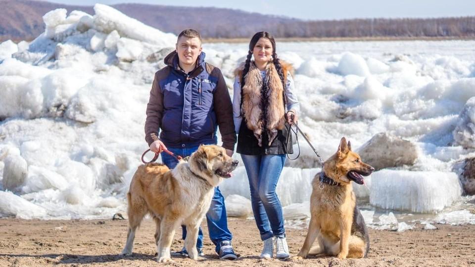 Супруги находят бездомных животных и помогают им
