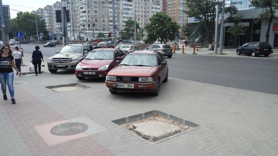 Проблема парковок в Кишиневе будет решаться. Фото: соцсети