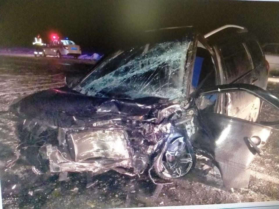 Водитель LADA умер в больнице. Фото: УГИБДД по Челябинской области