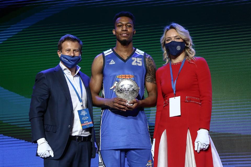 Защитник «Енисея» исполнил все 4 броска с первой попытки Фото: Единая Лига ВТБ