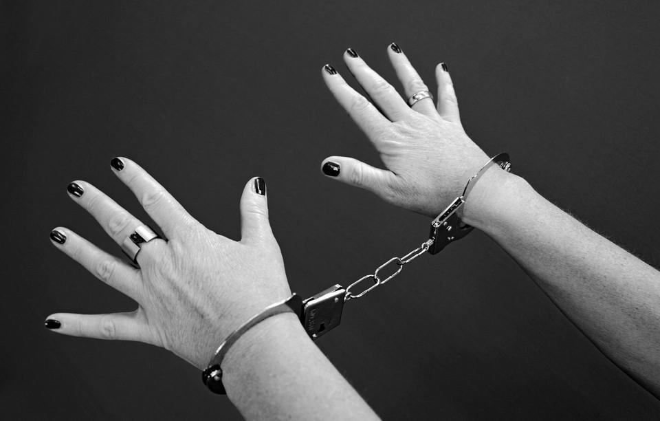 Женщина задержана и помещена в изолятор временного содержания