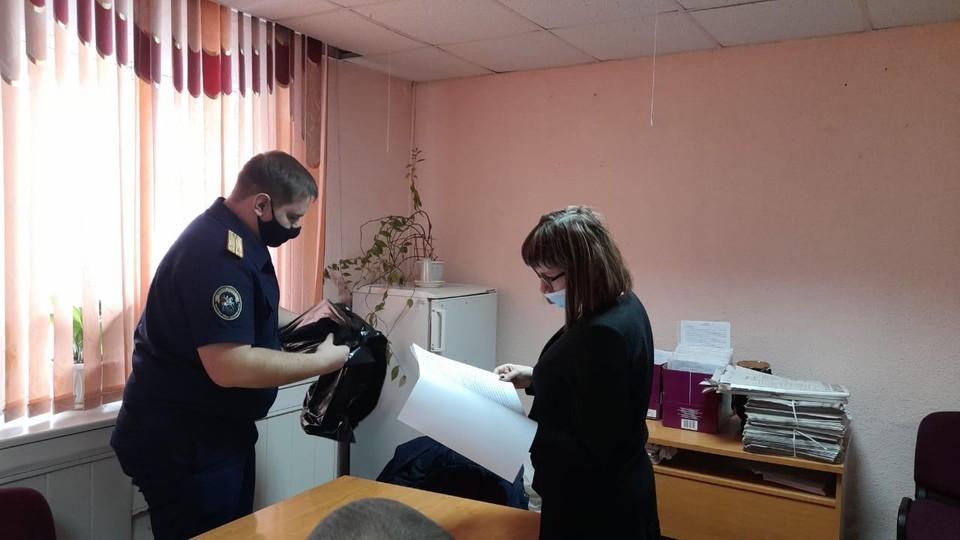 В администрации пгт Знаменка прошли обыски