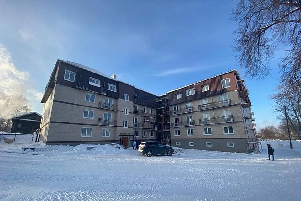 Проблемный дом будет сдан весной 2021 года. - kirovreg.ru