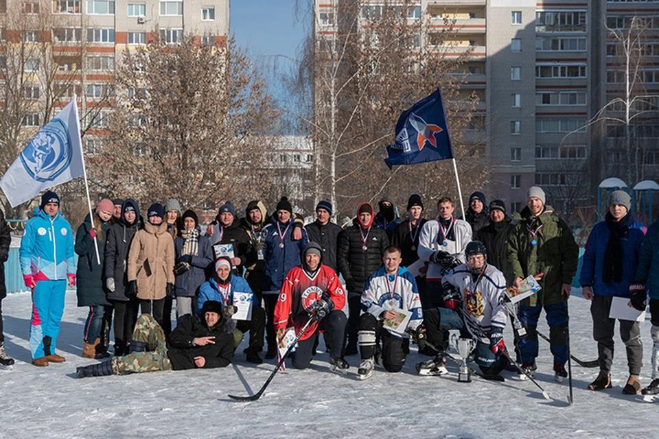 """Фото: vk.com, """"Брянская дворовая хоккейная лига""""."""