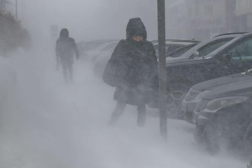 Новосибирск накроет метель.