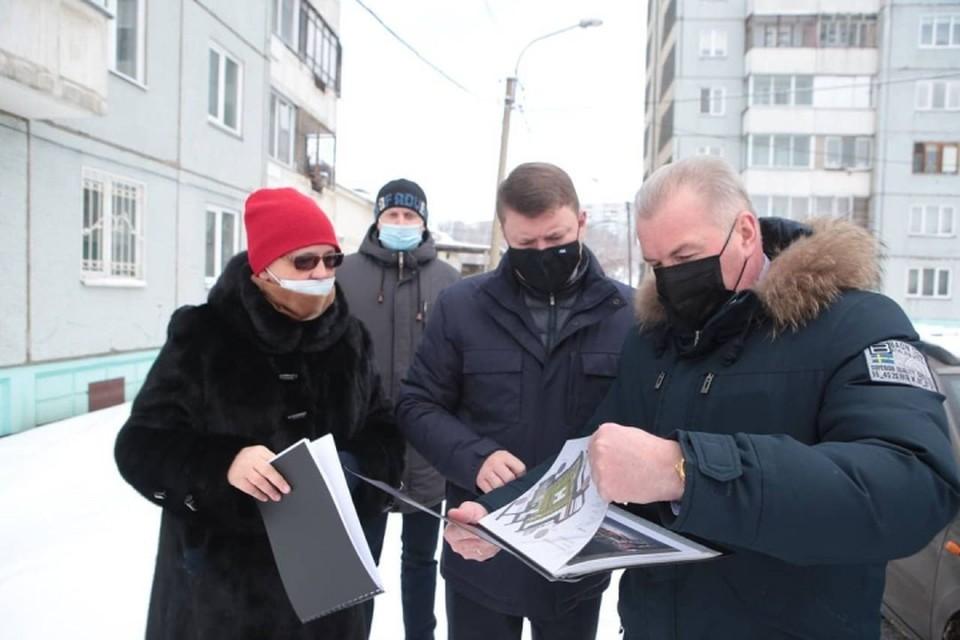 В Красноярске появится первый оригинальный «Двор-бульвар» ФОТО: аккаунт в Instagram Сергея Еремина