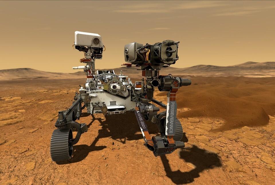Роскосмос поздравил NASA с посадкой «Perseverance» на Марс