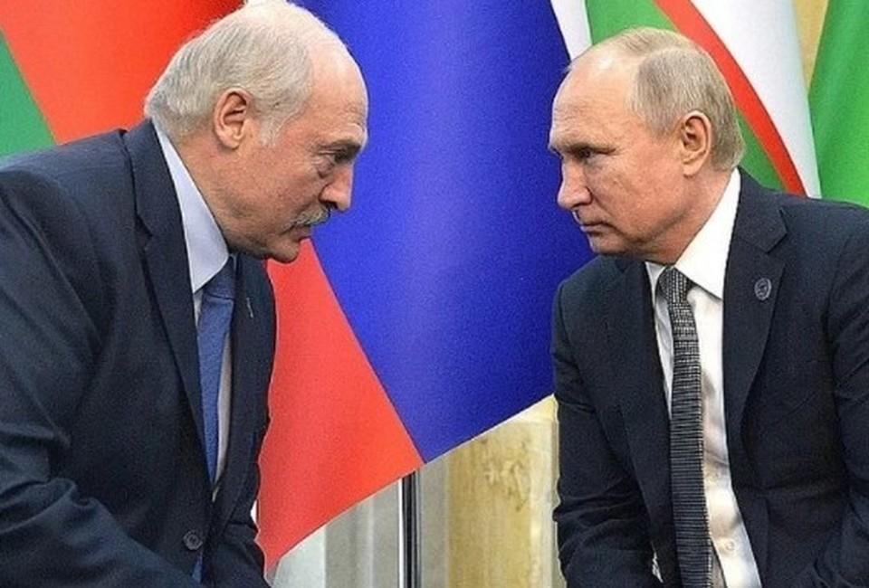 Александр Лукашенко и Владимир Путин. Фото - Алексей Дружинин пресс-служба президента РФ. ТАСС