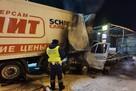 Водитель сгорел заживо: под Екатеринбургом «Газель» вспыхнула после столкновения с фурой