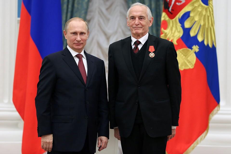 Россияне считают примером настоящих мужчин Путина и Ланового. Фото: Михаил Метцель/ТАСС