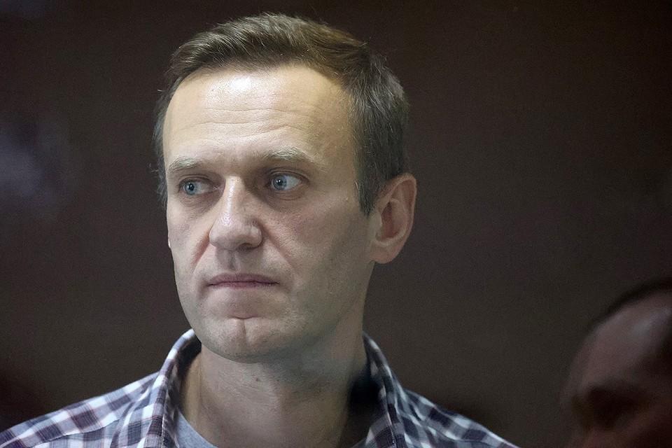 Алексей Навальный во время суда 20 февраля. Фото: Владимир ГЕРДО/ТАСС