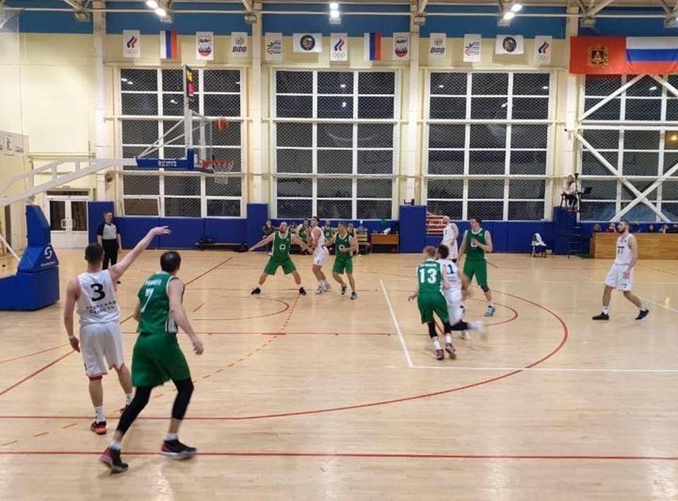 В Брянской области прошло Первенство России по баскетболу среди мужчин.