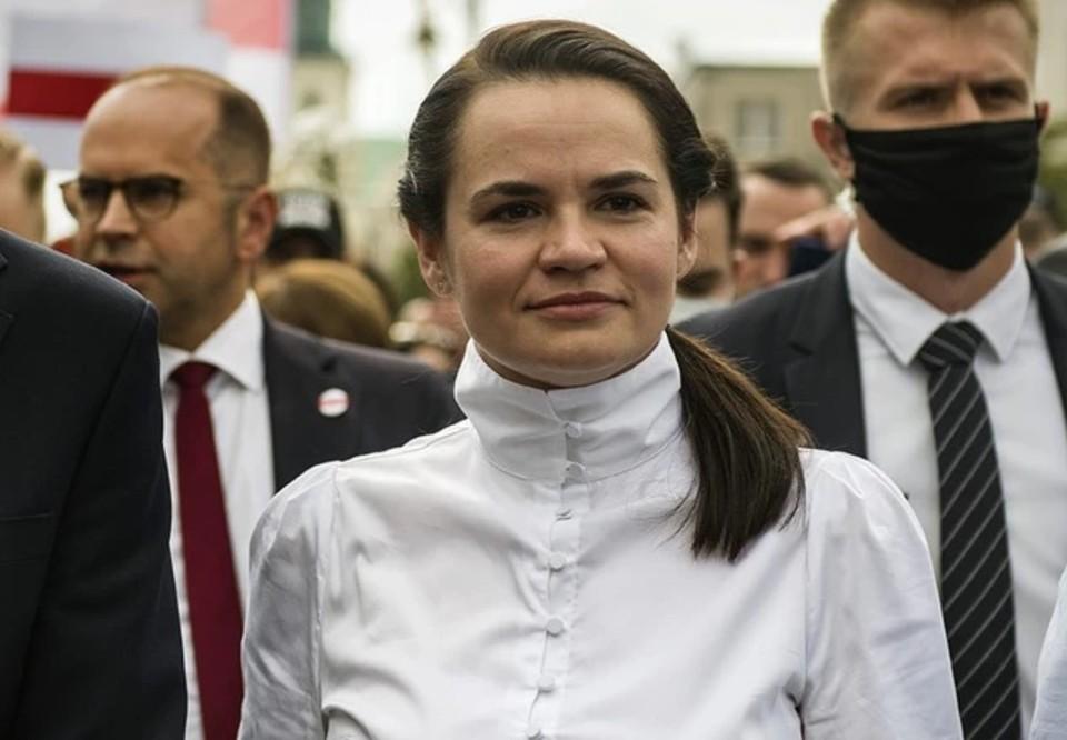 Светлана Тихановская назвала санкции ЕС против Белоруссии насмешкой.