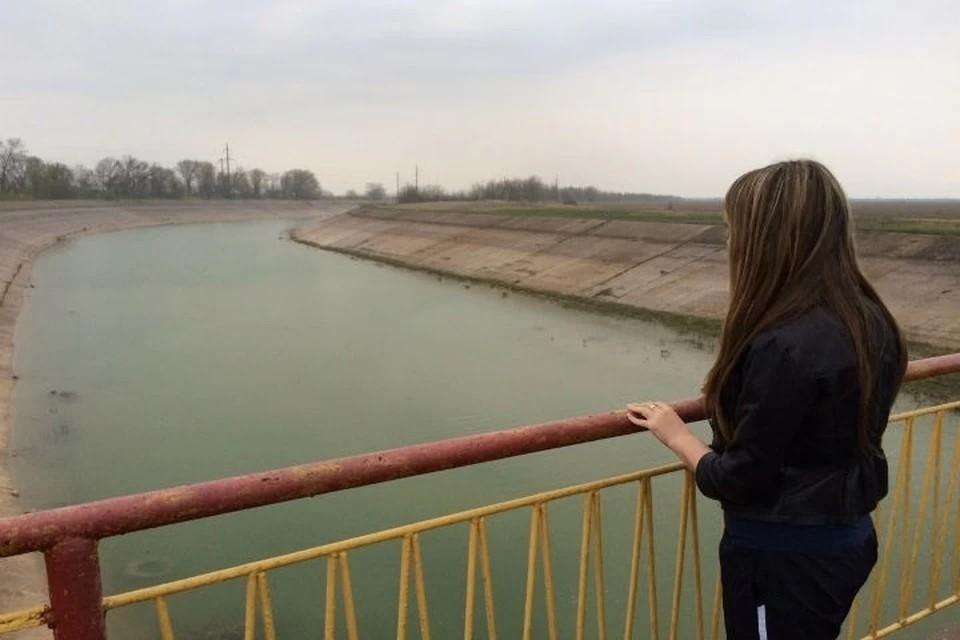 Вода по Северо-Крымскому каналу поступала на полуостров до 2014 года