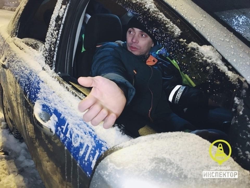 Водитель оказался пьян (Фото: Дорожный инспектор).