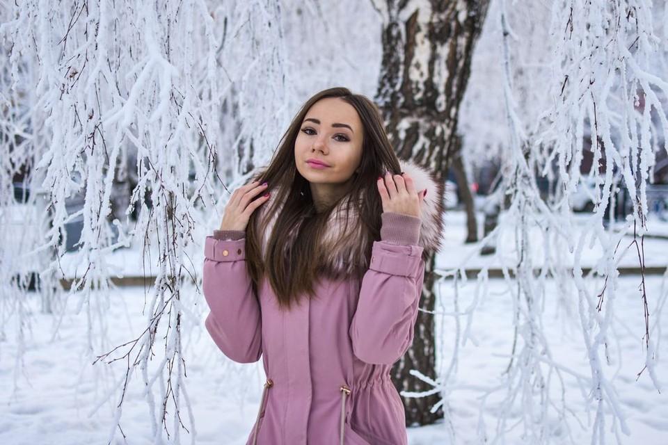 В Новосибирске держится морозная погода.